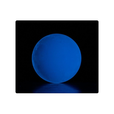 Clear UV contact ball glowing - Flow DNA