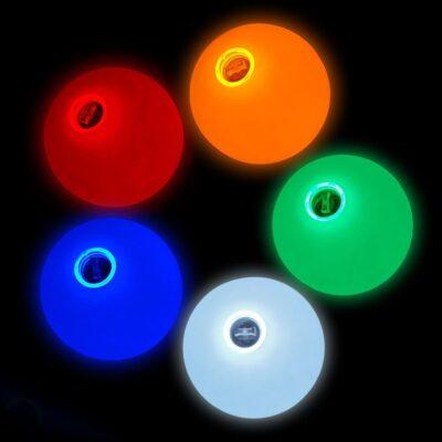 Firetoys glow juggling balls -70mm X 5
