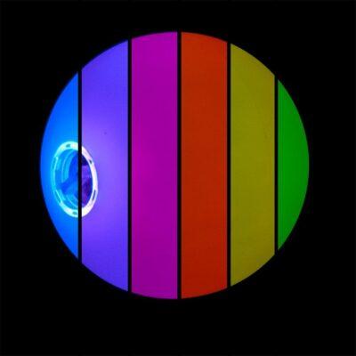 Firetoys glow juggling balls -70mm - rainbow