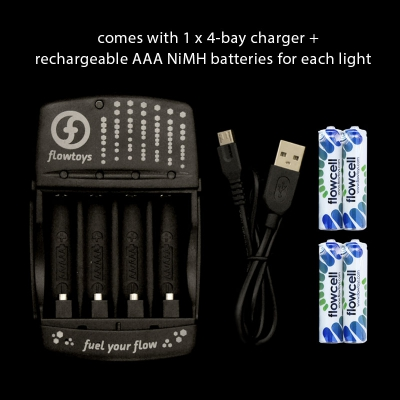4-bay flowcell battery charger - Flow DNA