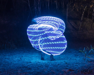 Echo Glow Hoop