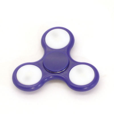 Blue LED fidget spinner - Flow DNA