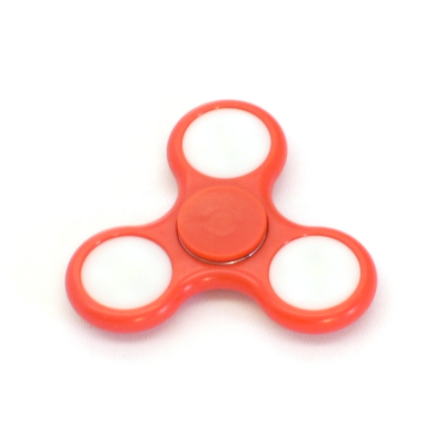 Red LED fidget spinner - Flow DNA