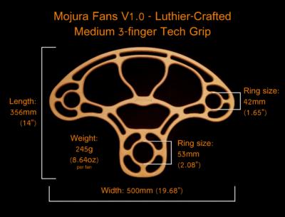 Mojura Fans Dimensions