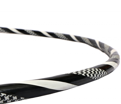 Pattern Hoop Black Close - Flow DNA