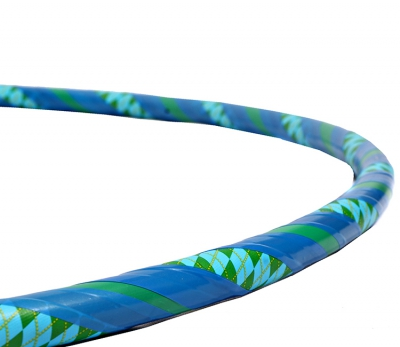 Pattern Hoop Blue/Green Close - Flow DNA