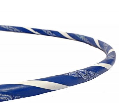 Pattern Hoop Dark Blue Close - Flow DNA