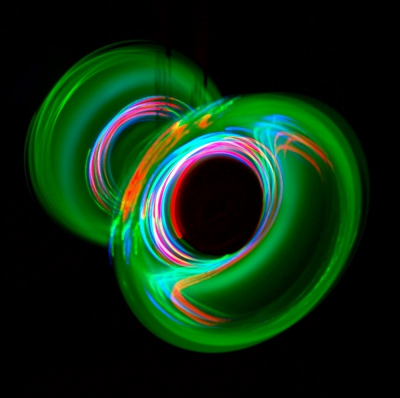 LED diabolo light kit cyclone green - Flow DNA