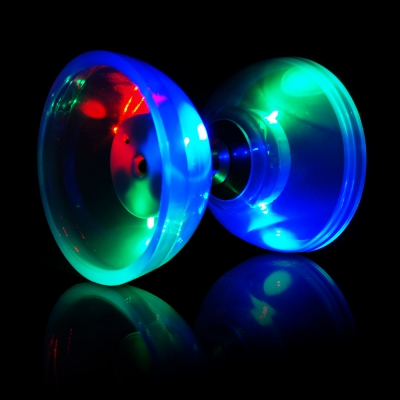 LED diabolo light kit cyclone blue - Flow DNA