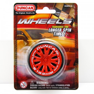 Duncan Wheels Yo-Yo Red - Flow DNA