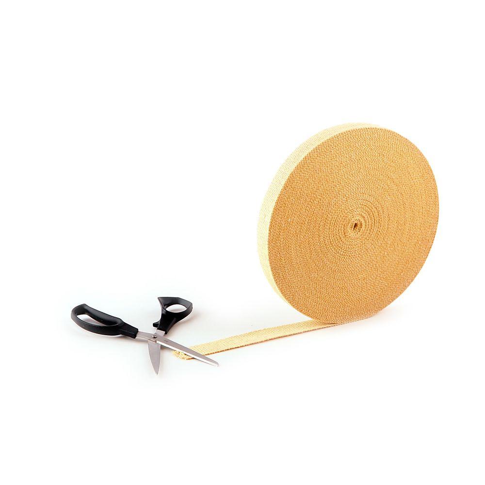 Thin Kevlar® Flat Wick 25mm x 1.6mm (per metre)