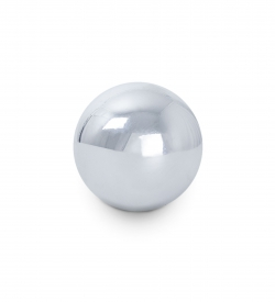 Chrome Finish Steel Contact Ball - Flow DNA