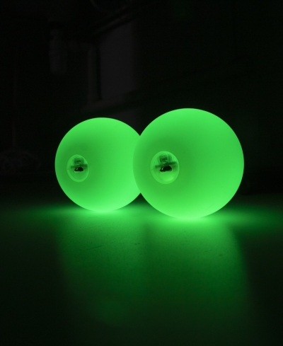 Oddballs Rechargeable Pro Poi Green - Flow DNA